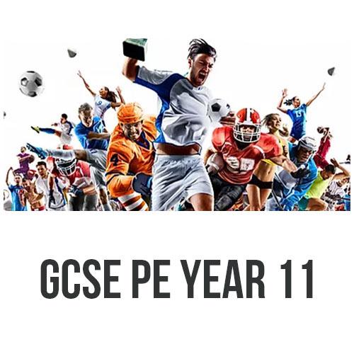 GCSE PE YEAR 11