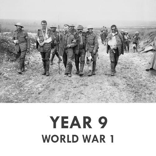 Year 9 - History - WW1